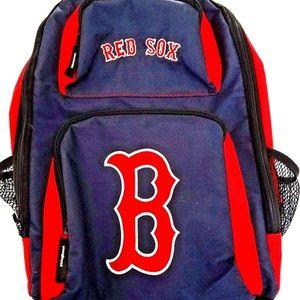 Boston Red Sox Backpack MLB Team Logos 18'' Mesh
